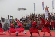 철원 DMZ 중앙 평화 꽃송이 축제 개막 인기