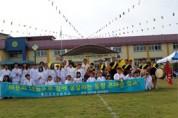 용정초등학교, 꿈나무 학생들 우리고장 전통문화를 학부모님과 함께 했어요.