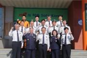 김충식 강원소방본부장, 철원소방서 방문
