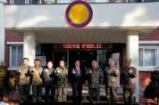철원군, 15사단 장병 위문 방문