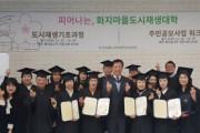피어나는, 화지마을 도시재생대학 1기 수료식 개최