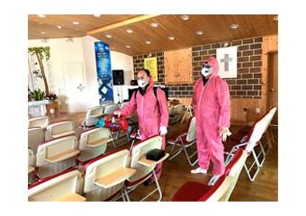 철원군자원봉사센터, 현장방역봉사단 방역활동에 구슬땀