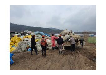 김화읍 새마을지도자협의회, 영농폐기물 수거활동 실시