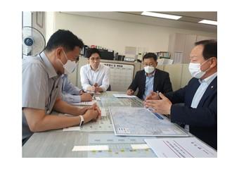 한기호 의원, 국토교통부 방문 '지역 SOC 확층 건의'