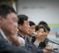 한기호 국회의원 당선인 초청 현안사업 정책 간담회 개최